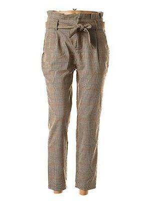 Pantalon chic beige ONLY pour femme