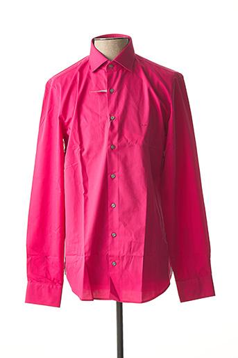 Chemise manches longues rose MICHAEL KORS pour homme