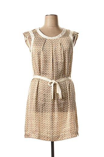 Robe courte beige VOODOO pour femme