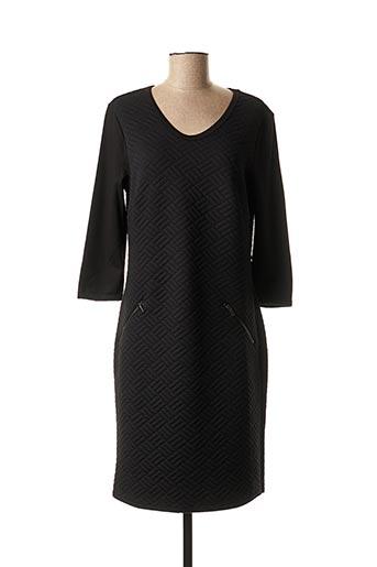 Robe mi-longue noir NINATI pour femme