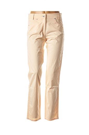 Pantalon casual rose APANAGE pour femme