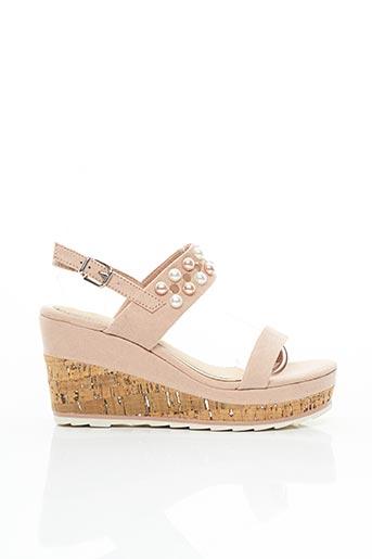 Sandales/Nu pieds rose MARCO TOZZI pour femme