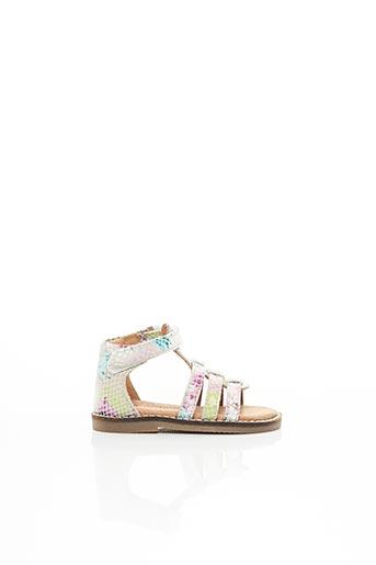Sandales/Nu pieds blanc KOUKI pour fille