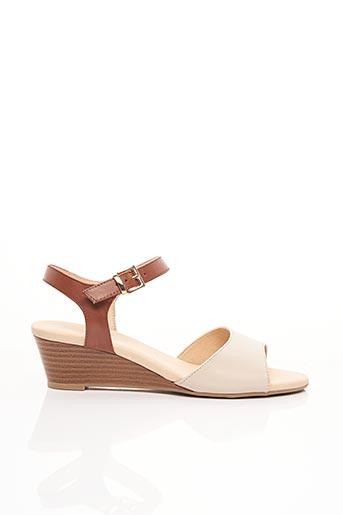 Sandales/Nu pieds marron CAPRICE pour femme