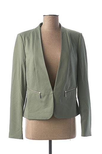 Veste chic / Blazer vert VERO MODA pour femme
