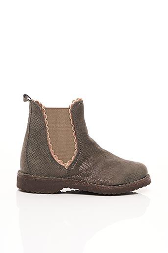 Bottines/Boots gris BISGAARD pour fille