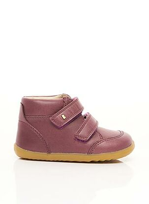 Baskets violet BOBUX pour fille
