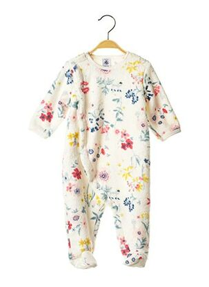 Pyjama blanc PETIT BATEAU pour fille