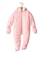 Combi-pantalon rose LOSAN pour fille seconde vue