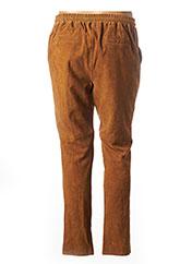 Pantalon casual marron ROSE GARDEN pour femme seconde vue