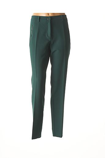 Pantalon casual vert ANDAMIO pour femme