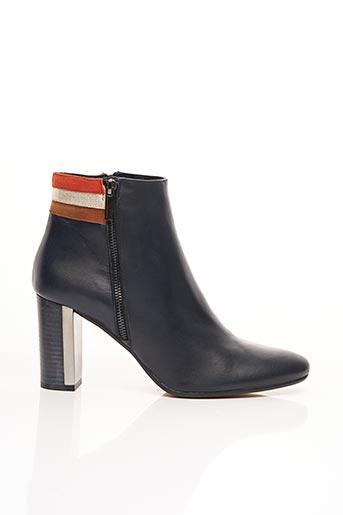 Bottines/Boots bleu CARDENAL pour femme