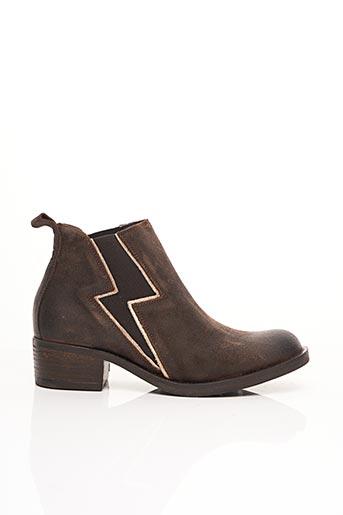 Bottines/Boots marron PALLADIUM pour femme