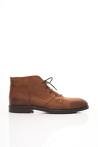 Bottines/Boots marron COQUE TERRA pour homme