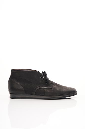 Bottines/Boots noir COQUE TERRA pour homme