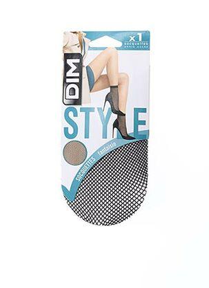 Chaussettes noir DIM pour femme