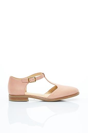 Sandales/Nu pieds rose CLARKS pour fille