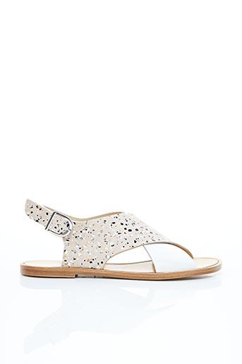 Sandales/Nu pieds blanc ANAKI pour femme