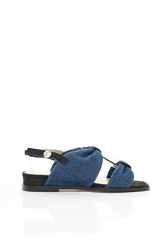 Sandales/Nu pieds bleu ANAKI pour femme