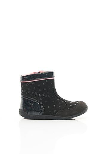 Bottines/Boots noir KICKERS pour fille