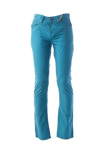 Pantalon casual bleu ALCOTT pour homme