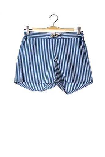 Short de bain bleu C&O BEACH pour homme