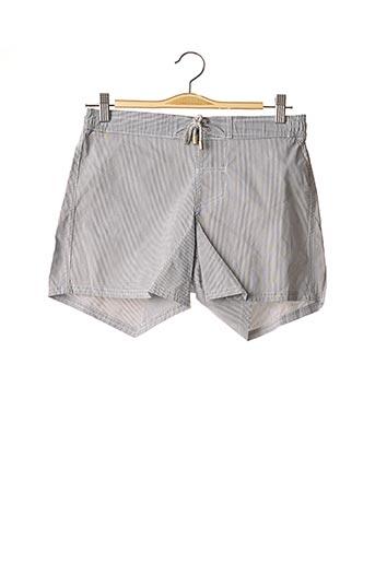 Short de bain gris C&O BEACH pour homme