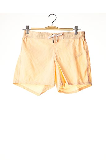 Short de bain orange C&O BEACH pour homme