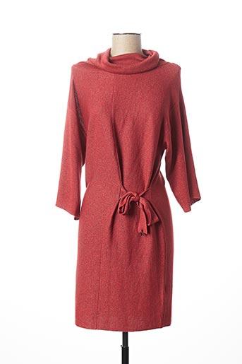 Robe mi-longue orange PATRIZIA PEPE FIRENZE pour femme