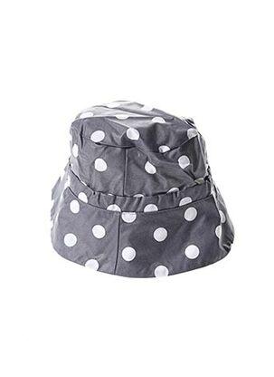 Chapeau gris K-A-N-O-U pour femme
