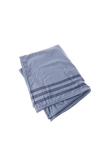 Drap de bain bleu HOM pour homme