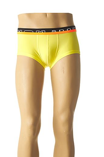Shorty/Boxer jaune HOM pour homme