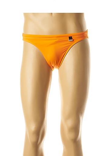 Slip de bain orange HOM pour homme