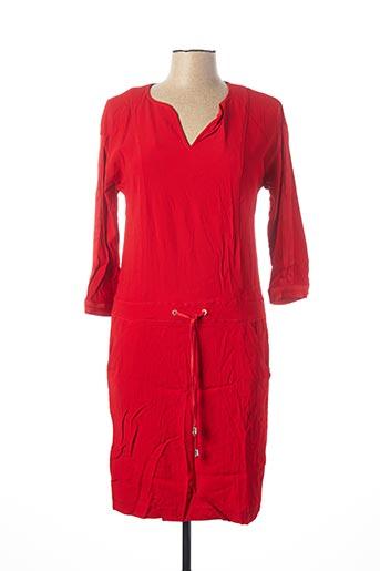 Robe mi-longue rouge VOODOO pour femme