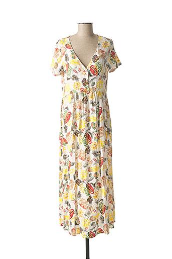 Robe longue blanc VILA pour femme