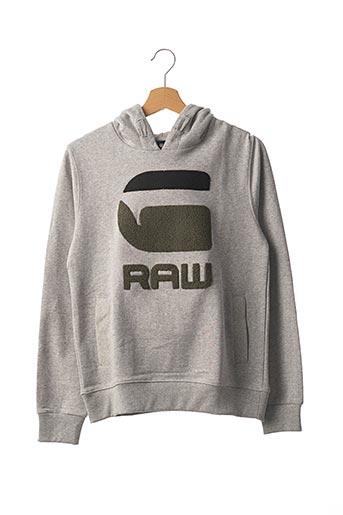 Sweat-shirt gris G STAR pour enfant