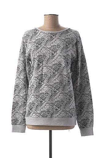 Sweat-shirt gris BECKARO pour garçon