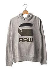 Sweat-shirt gris G STAR pour enfant seconde vue