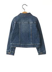 Veste en jean bleu 3 POMMES pour fille seconde vue