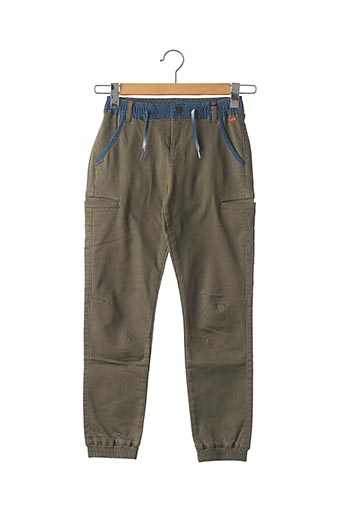 Pantalon casual vert IKKS pour fille