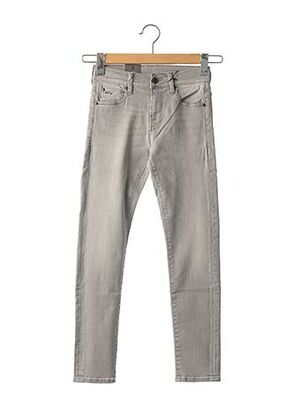 Jeans skinny gris G STAR pour fille