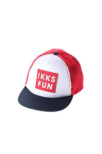 Casquette rouge IKKS pour garçon