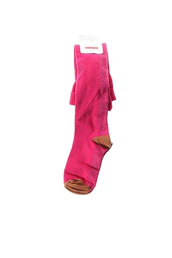 Collants rose CATIMINI pour fille