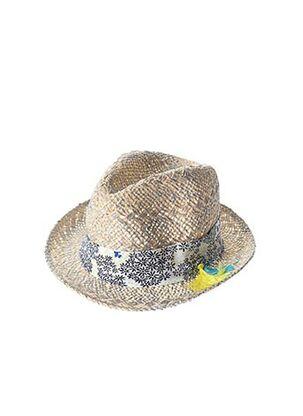 Chapeau gris CHIPIE pour fille