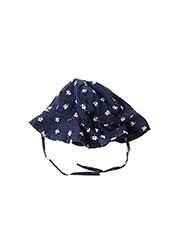 Chapeau bleu JEAN BOURGET pour fille seconde vue
