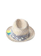 Chapeau gris CHIPIE pour fille seconde vue