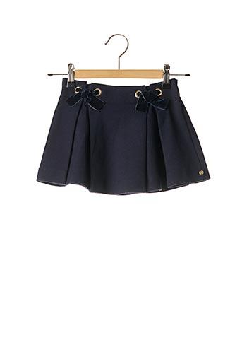 Jupe mi-longue bleu LILI GAUFRETTE pour fille