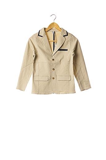 Veste casual beige 3 POMMES pour garçon