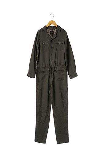 Combi-pantalon vert G STAR pour fille