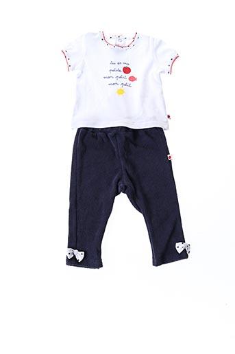 Top/pantalon bleu ABSORBA pour fille